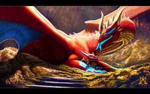 Dragon's Hoard by noctem-tenebris