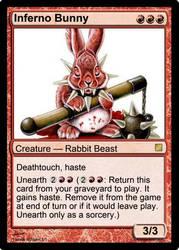 My own magic card