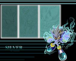 Silver wallapaper by Faezza