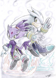 Silver and Blaze by Faezza