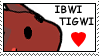 Ibwi Tigwi Stamp by Faezza