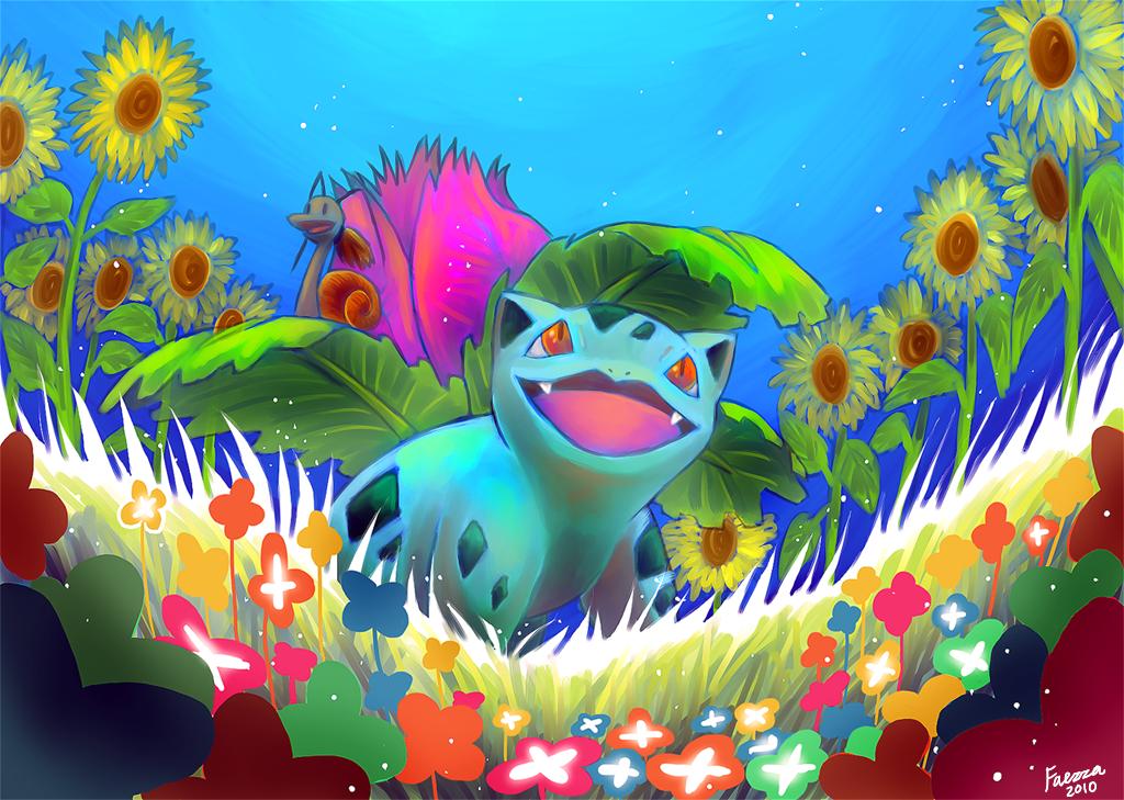 Ivysaur by Faezza