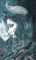 Afterlife's Ferrywoman by MikaelHankonen