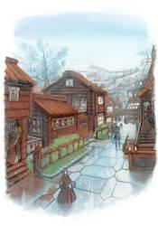 Commoners quarters by MikaelHankonen