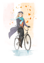 I Hate Drawing Bicycles. by MikaelHankonen