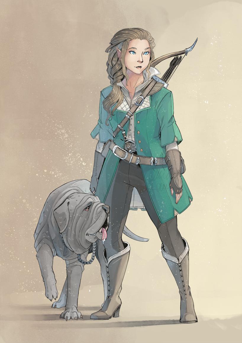 Huntress by MikaelHankonen