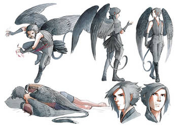 Leader of the Black Wings by MikaelHankonen