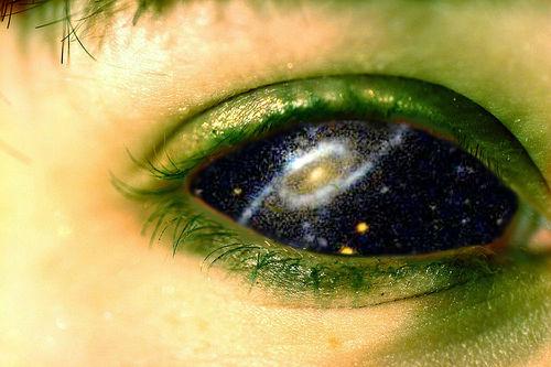 Reflective eyes