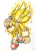 Super Sonic Werehog by ImTooLayzee