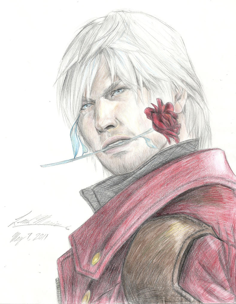 Devil May Cry 4 - Dante by SaiyukiMarie39