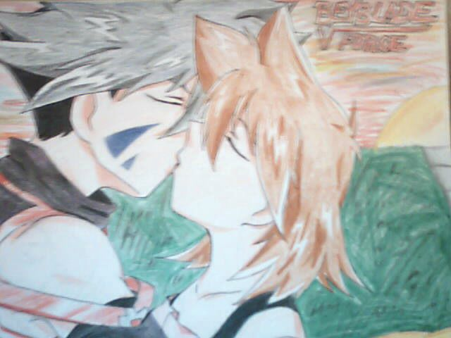 Kai and Hilary Sunset by SaiyukiMarie39