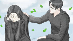 Harry Comforting Snape