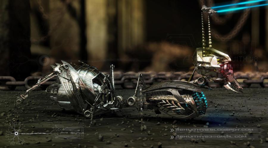 robo ant 2 by abhijithvb