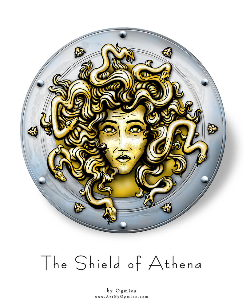 The Shield of Athena by Ogmosis on DeviantArt