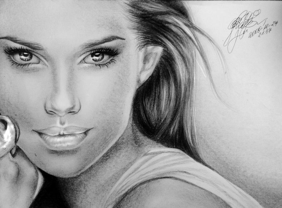 Adriana Lima X maybelline. by soooty