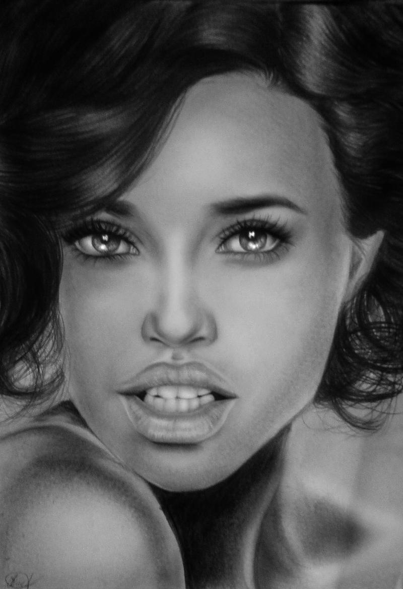 Adriana Lima XI maybelline by soooty