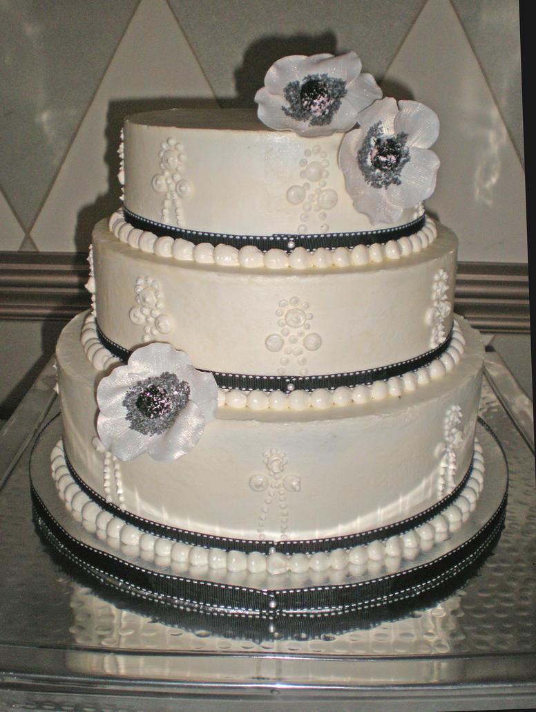 Pre Iced Wedding Cakes