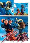 Goku Blue vs Moro with 73 Absorbed