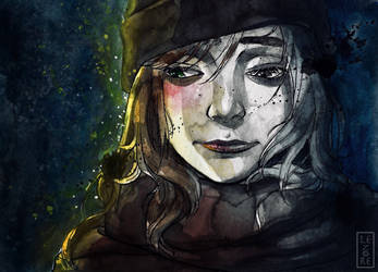 Cold cold lonely winter by Starina-Lenore