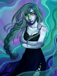 Sadness and hope goes hand in hand by Starina-Lenore