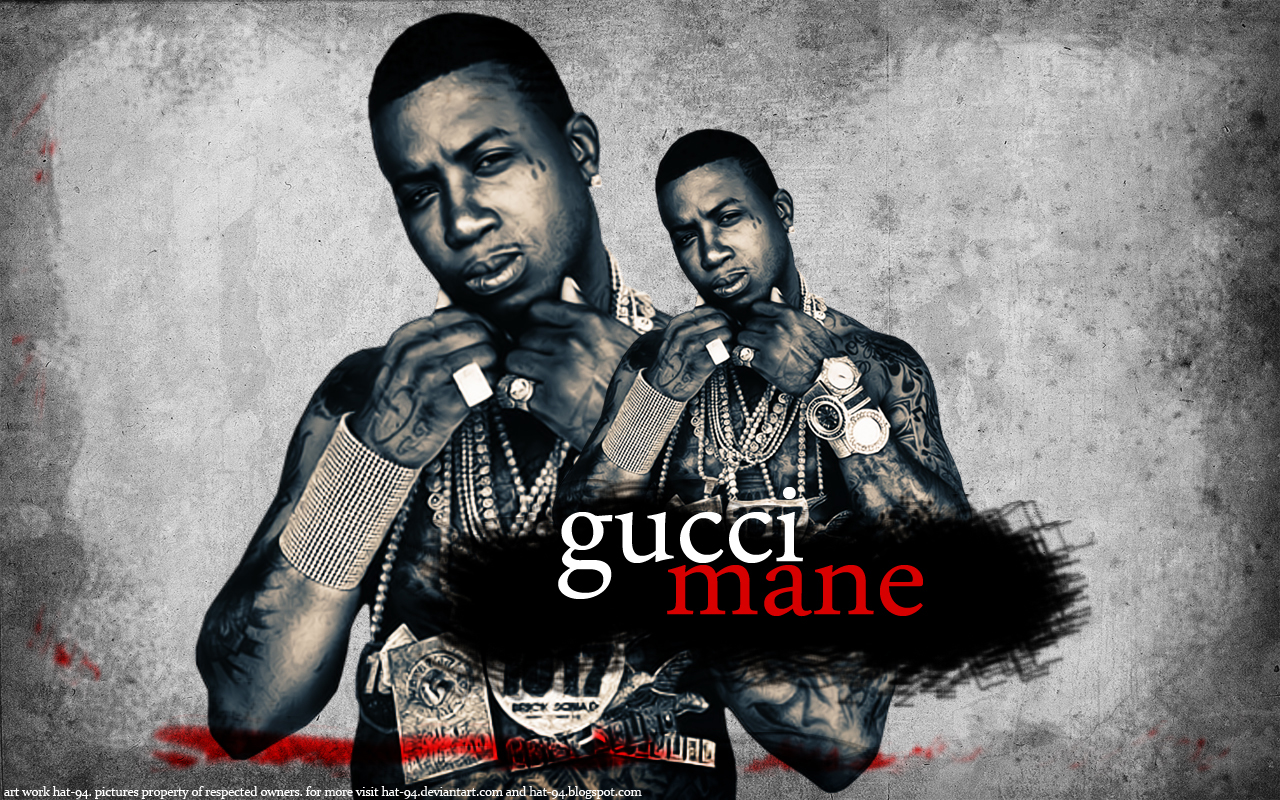 gucci mane wallpaper by hat 94 on deviantart