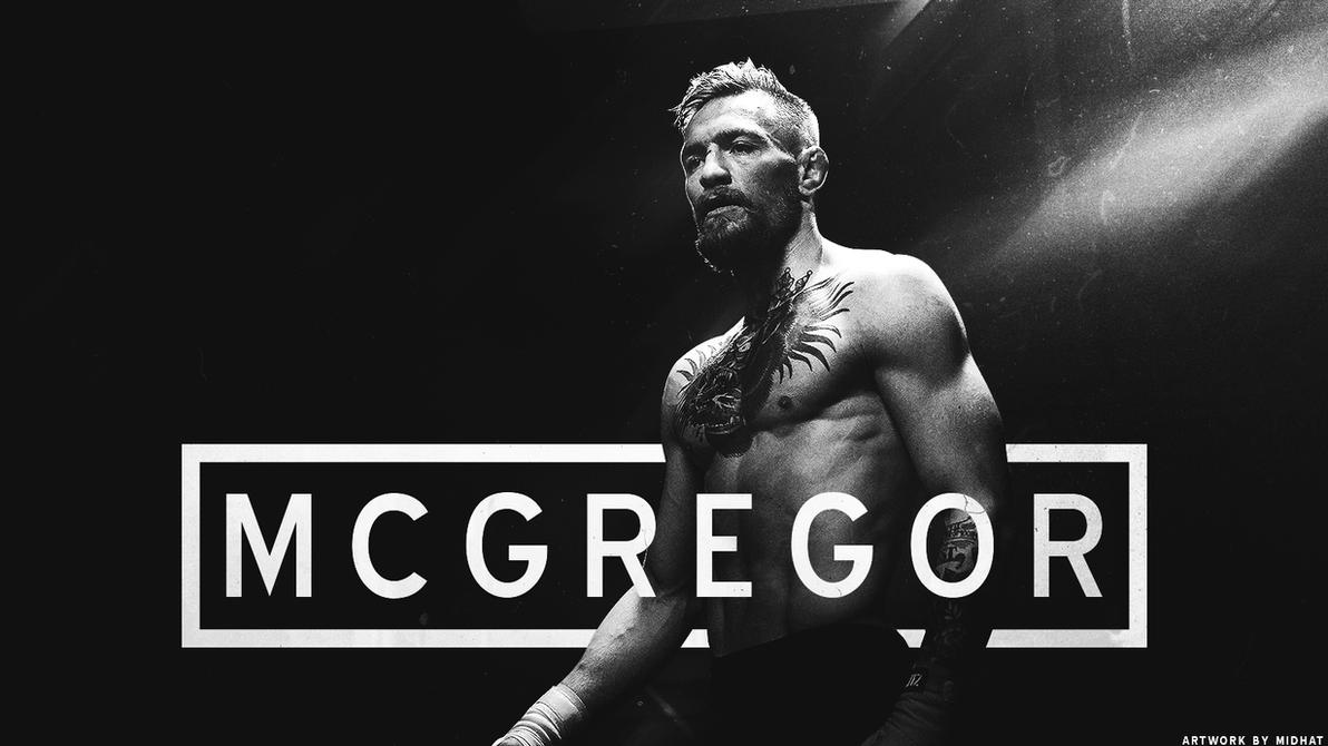 Conor Mcgregor Wallpaper Black And White: Conor Mcgregor By Hat-94 On DeviantArt