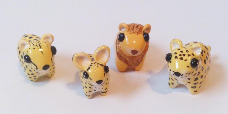 My miniature safari: big cats by RoOsaTejp