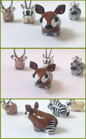 My miniature Okapi by RoOsaTejp