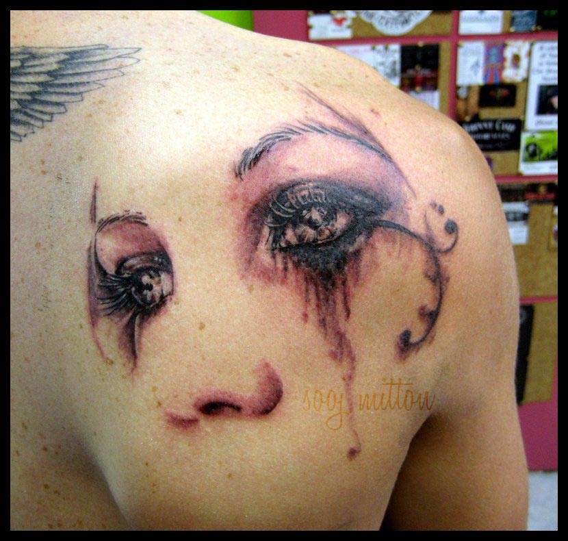 Tattoo Woman Eyes: 40+ Pretty Tattoos Collection For Pretty Girls