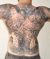 dragon tattoo by sooj