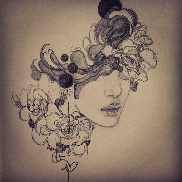 Perfume by sooj on deviantart for Amazing drawings tumblr