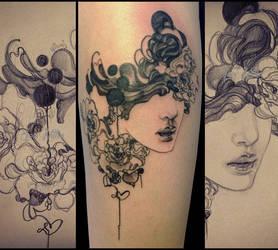 perfume tattoo by sooj