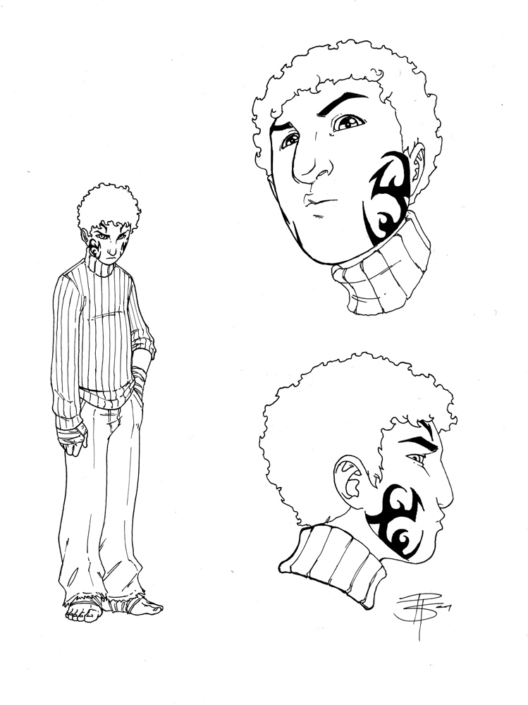 RK_Concept Art: Lucas Solomon by FooRay