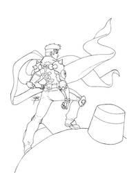 True Ruff Rider: Jin-saotome by FooRay
