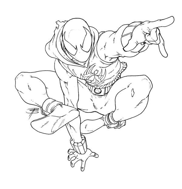 spiderman coloring pages miles morales | Miles Morales Spider Man Coloring Pages Coloring Pages