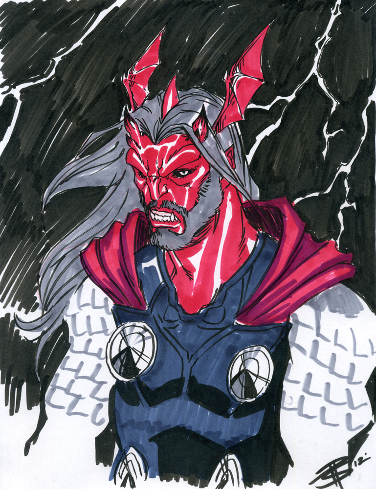 The Demon of Thunder by FooRay