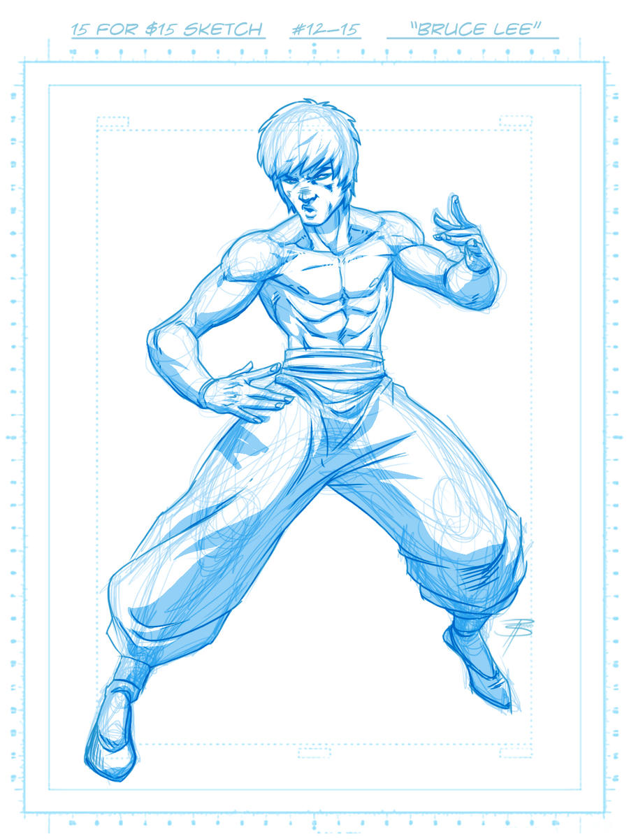 15 4 15: ' Bruce Lee ' by FooRay