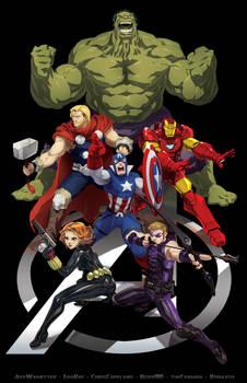 Skratchwork Avengers ASSEMBLE Jam