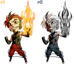 Pocket Fighter Jam p1 and p2 by FooRay