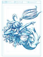 Little Mermaid Sketch by FooRay