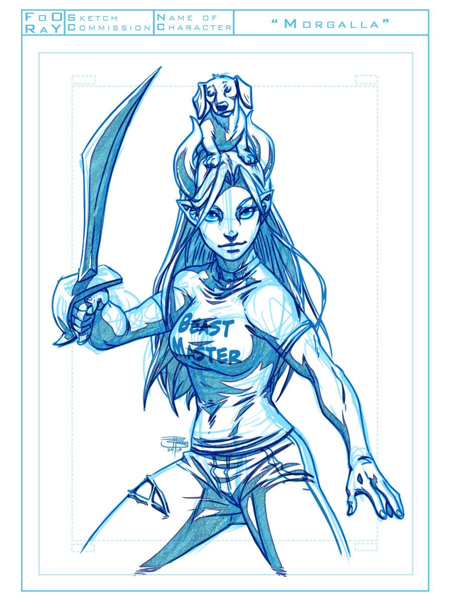 Morgalla sketch by FooRay
