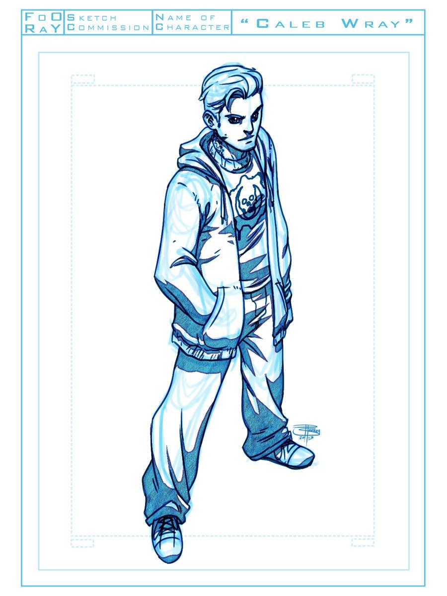 Caleb Wray Sketch by FooRay