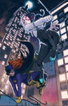 SpiderGwen/BatGirl: The CrossOver