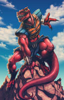 Genghis Rex by FooRay