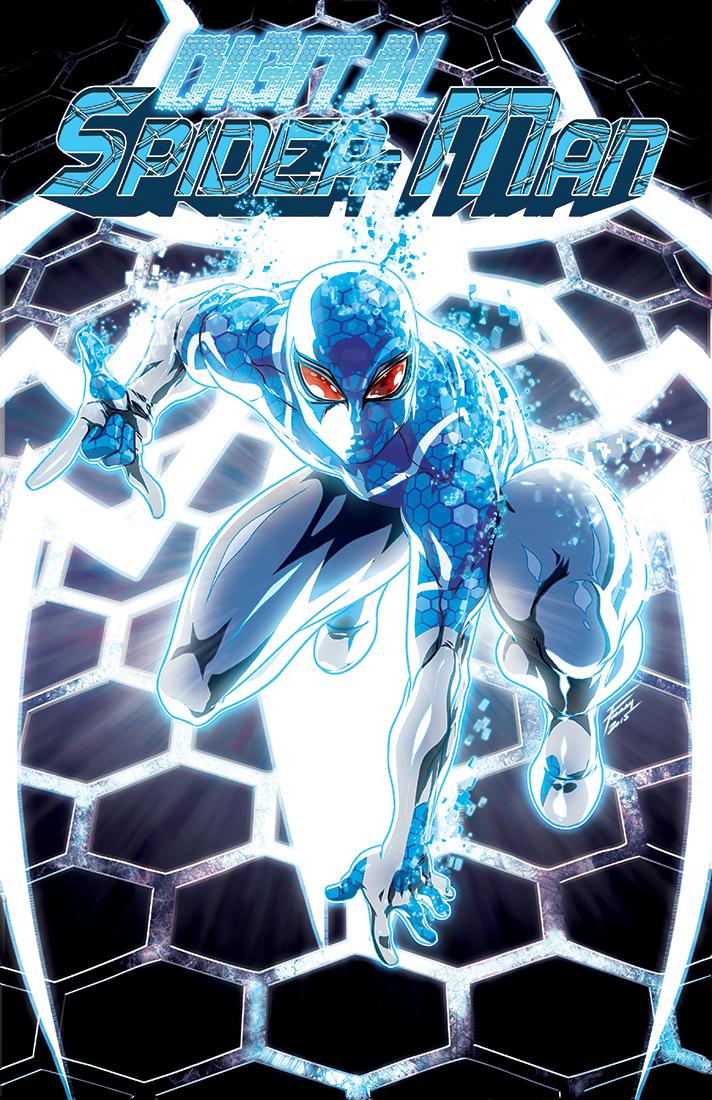 Digital Spider-Man #1: FooRay Variant Cover by FooRay