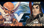 VS collabs: Jinpachi VS Lu Bu