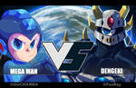 VS collabs: MegaMan VS Dengeki