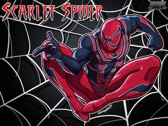 Skratchjams Scarlet Spider 1 by FooRay