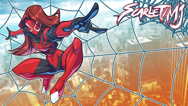 Scarlet MJ TheKidKaos Wallpaper