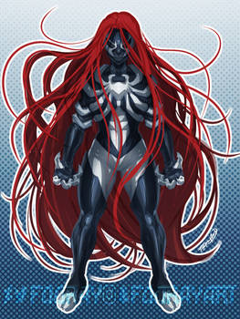 Symbiote Scarlet-MJ